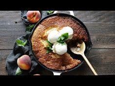 Fresh Peach Cobbler, Stone Fruit, Angel Food Cake, Desert Recipes, Us Foods, Casserole Dishes, Peaches, Cake Decorating, Sweet Treats