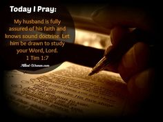 Praying for your Husband – Day 3 | Allied Women - Let's pray for our husbands!