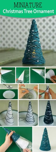 Quick and Simple Christmas Tree Ornament