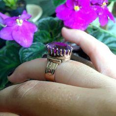 #victorianjewelry #amethystring