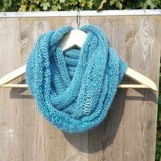 Infinity Cowl Scarf loop scarf wool snood by CassiopeiaDesignsUK