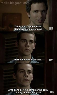 Teen Wolf Teen Wolf Movie, Teen Wolf Funny, Series Movies, Film Movie, Karma, Teen Wolf Stiles, Movie Lines, How I Met Your Mother, Dylan O'brien