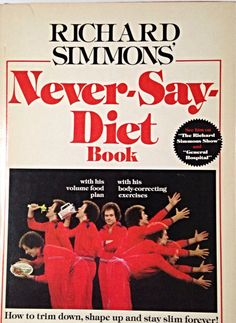 I still have this and the cookbook too. sensible weight loss back when Richard was sensible...love him.
