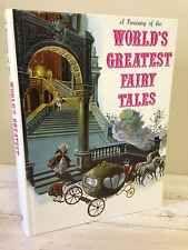 A TREASURY OF THE WORLD'S GREATEST FAIRY TALES 1972 HC Danbury Press Rapunzel #books #children #vintage #fairytales