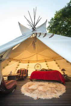 Sioux Tipi | Tipis en Bretagne: Dormez dans un hébergement insolite lors d'un week ...