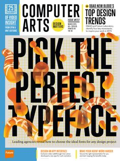 #Computer #Arts Magazine 237. Pick the perfect #typeface!