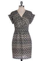 Printmaker's Mark Dress | Mod Retro Vintage Dresses | ModCloth.com