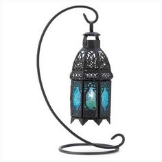 Sapphire Nights Hanging Lantern From Bargain Bunch at:  http://www.bargainbunch.com