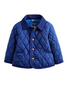 Your little boy's first quilted coat! Joules have recreated the classic country jacket especially for your little one in this baby Milford jacket. Joules Wellies, Pregnant With Boy, Playsuit Dress, Designer Baby Clothes, Baby Boy Quilts, Quilted Jacket, Baby Wearing, Midnight Blue