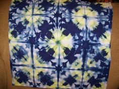 """I can't figure out how to post these pictures over at """"And Then We Set It On Fire"""" so I am posting all my all shibori pictures here and givi..."""