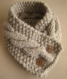 Great knitted scarf