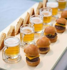 maybe a beer tasting party? Could be a good party for huby.
