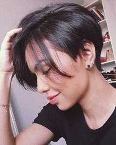 Short Pixie Haircuts, Short Hairstyles For Women, Short Hair Cuts, Easy Hairstyles, Beautiful Hairstyles, Really Short Hairstyles, Style Short Hair Pixie, Hairstyle Ideas, Hair Ideas