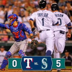 Paxton and Farquhar blank the #Rangers in the #Mariners 9th shutout of the season. 8/26/14