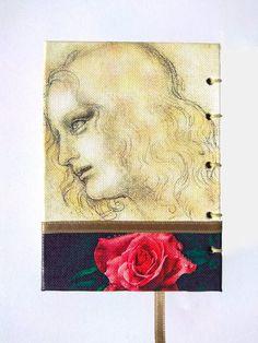 Da Vinci Notebook Journal Sketchbook Travel Journal | Etsy Journal Notebook, Handmade, Travel, Etsy, Hand Made, Viajes, Caro Diario, Craft, Trips