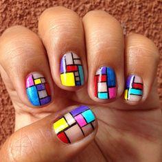 #TomFruin inspired nail art - @RaqstarNails