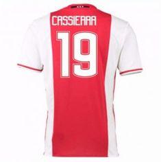 16-17 Ajax Home #19 Cassierra Cheap Replica Jersey [G00709]