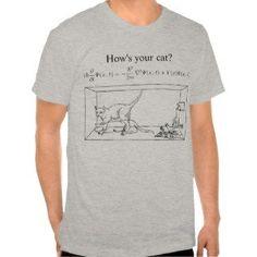 Schrödinger's Cat Tee Shirt: