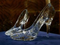 Oh! My! Cinderella shoes!
