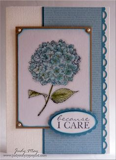 Just Add Ink - Just Add Sympathy by judym09 - Cards and Paper Crafts at Splitcoaststampers
