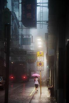 Hong Kong in the rain | Christophe Jacrot PhotographiesChristophe Jacrot Photographies