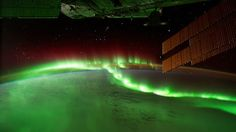 Aurora Borealis from Space! via NASA (click to play video on vimeo)