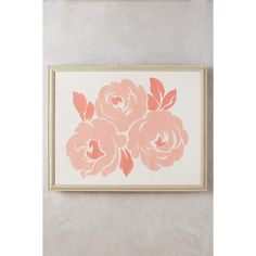 Anthropologie Rosen Textile Wall Art ($2,218) ❤ liked on Polyvore featuring home, home decor, wall art, peach, anthropologie, distressed wall art, anthropologie home decor, fabric wall art and distressed home decor