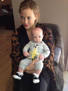 Hilary Duff y su bebé Luca