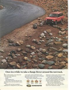 Twenty Range Rover Ads You'd Never See Today | Expedition Portal