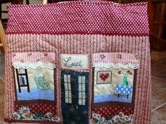 Funda de maquina de coser -frente / sewing machine case- front