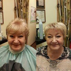 Стрижка и укладка. Вечерний макияж | Студия красоты Талия, салон красоты, парикмахерская
