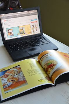 great idea- family recipe Book done thru an online photo printing site- start taking pictures now!