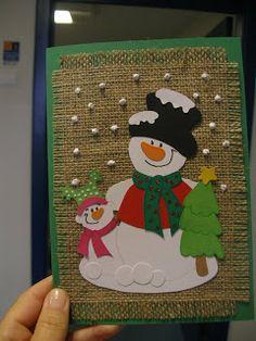 Duendes Mágicos Artes @: Ideias para postais de Natal