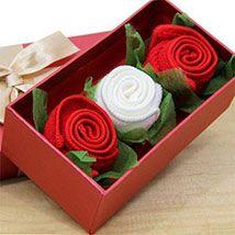 Red & White Napkin Pack