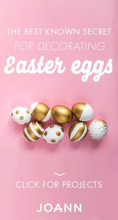 Ready for a truly egg-cellent Easter decor idea? Check out these Easter egg projects from JOANN! With tips and hacks for decorating these classic pieces, the inspiration is truly endless.