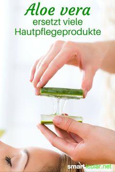 Das Gel der Aloe vera ist ein sehr gesundes und vielfältiges Heilmittel. Richtig eingesetzt kann es zahlreiche teure Pflegeprodukte spielend ersetzen!