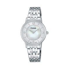 Pulsar Ladies SS analogue bracelet watch prw025x1 | Debenhams