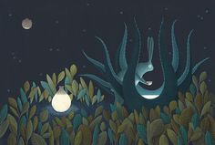 The Moons Magical Mythology Captured in an Illustrated Book by David Alvarez Art And Illustration, Doodle Illustrations, Creative Illustration, Art Vintage, Vintage Design, Daniel Alvarez, Ancient Myths, Art Watercolor, Colossal Art