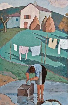 Ramiro Arrue - la lavandière