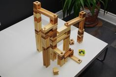Custom Listing for Constance - Wooden Marble Run Toy