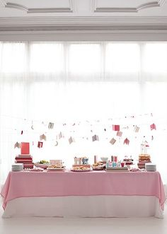 Martha Stewart themed baby shower. The shower had a library theme, with the idea being that friends brought their favorite children's books as gifts.