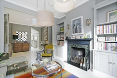 Terraced house - long living room