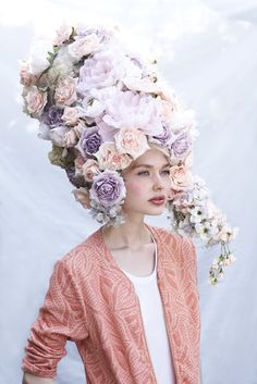 ❀ Flower Maiden Fantasy ❀ beautiful photography of women and flowers - Harriet Parry.