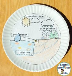 Water Cycle, Rain Cycle Science Experiments and Craftivity - Lessons for Little Ones by Tina O'Block