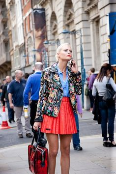 Street Style Chronicles: London Fashion Week Spring 2013 - theFashionSpot