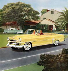 Plan59 :: Classic Car Art :: 1954 Plymouth
