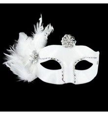 MASCARA VENECIANA ACABADO BLANCO Halloween Face Makeup, Arts And Crafts, Skull, Fantasy, Sexy, Masquerade Prom, Venetian, Fancy Dress For Kids, Mascaras