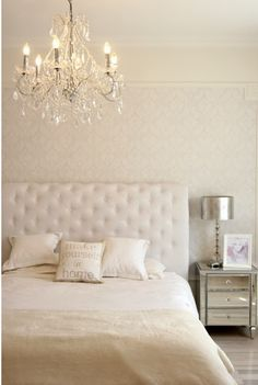 {Love} and this chandelier is going in our bedroom ASAP!!!