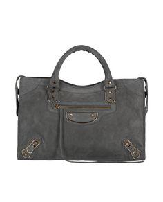 d68373634ab08 Balenciaga Classic Suede City Bag