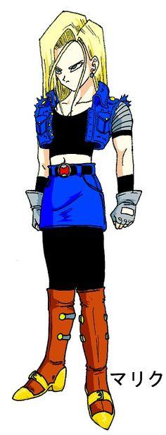 Super Saiyan Android 1...